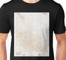 USGS TOPO Map California CA Blue Mountain 100300 1988 24000 geo Unisex T-Shirt