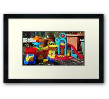 Just Add Child for Instant Play Framed Print