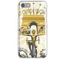 Le Grande Boucle Tour de France Poster iPhone Case/Skin