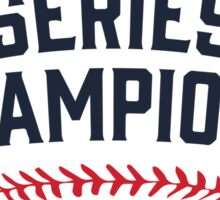 Chicago Cubs World Series Champions 2016 Sticker