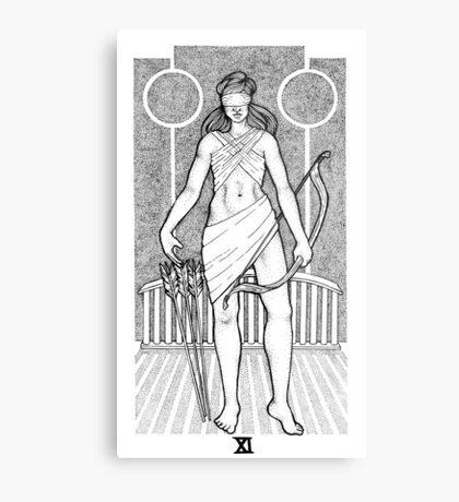 Tarot: Justice  Metal Print