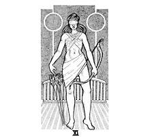 Tarot: Justice  Photographic Print