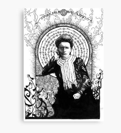 Marie Curie Canvas Print