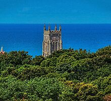 Cromer Church Tower St Peter & St Paul Norfolk by Avril Harris