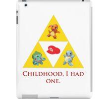 Tri-Force of Awesome (Zelda, Pokemon, Mario) iPad Case/Skin