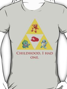 Tri-Force of Awesome (Zelda, Pokemon, Mario) T-Shirt