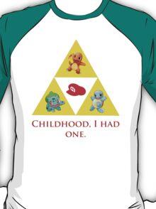 Tri-Force of Awesome (Zelda, Pokemon, Mario) T-Shirt