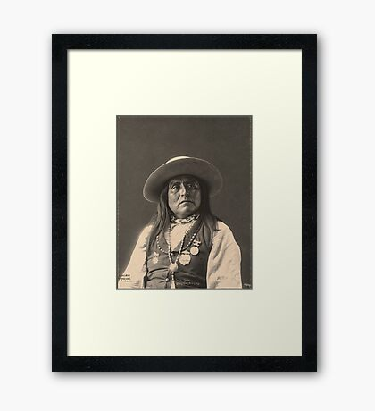 Chief Josh - Apache Framed Print