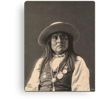 Chief Josh - Apache Canvas Print