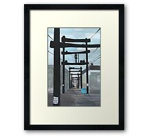Urban Legend Framed Print