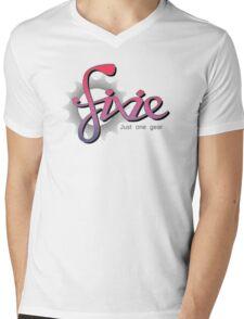 Fixie Mens V-Neck T-Shirt
