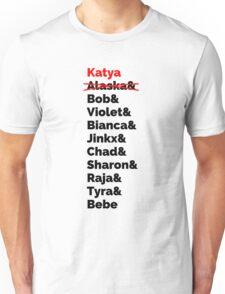 Rupaul's Drag Race Winners With Katya Zamolodchikova Unisex T-Shirt