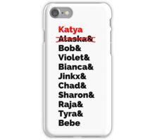 Rupaul's Drag Race Winners With Katya Zamolodchikova iPhone Case/Skin