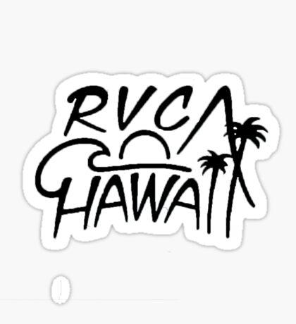 rvca hawaii Sticker