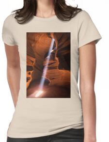 The Beam of Light Womens Fitted T-Shirt