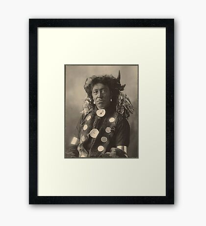 Cloud Man - Assinaboine Framed Print