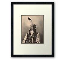 White Buffalo - Cheyenne Framed Print