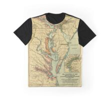 American Colonies in 1660 Graphic T-Shirt