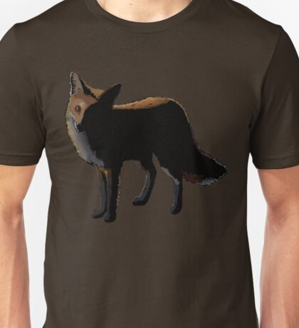 A Fox in the Night Unisex T-Shirt