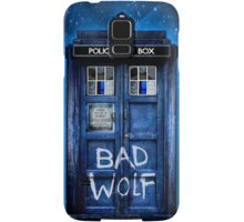 Space And Time traveller Wolf Samsung Galaxy Case/Skin