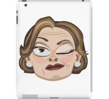 Lucille Bluth Winking from Arrested Development iPad Case/Skin