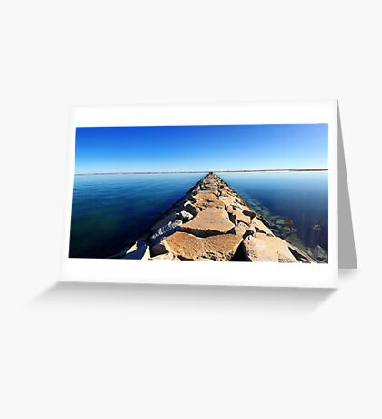 Endless Jetty Greeting Card