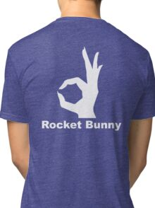 Rocket Bunny - White Tri-blend T-Shirt