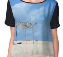 beach Chiffon Top