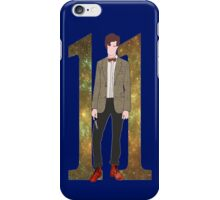 The Eleventh Doctor.  iPhone Case/Skin