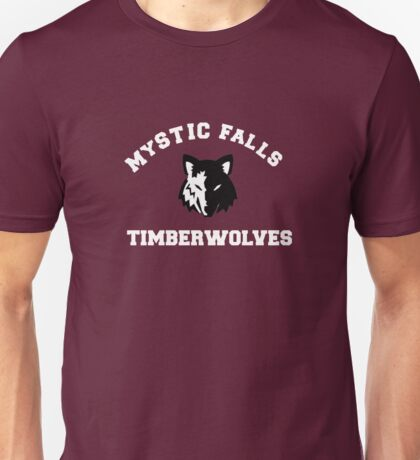 Mystic Falls Timberwolves - The Vampire Diaries Unisex T-Shirt