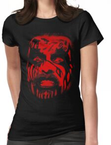 King Diamond (Red) Womens Fitted T-Shirt