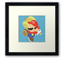 Paper Mario (Simplistic) Framed Print