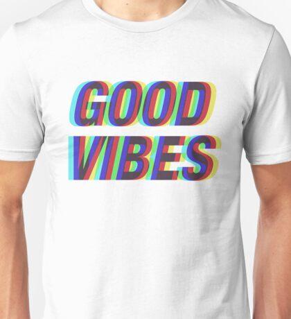 Good Vibes Techicolor Unisex T-Shirt