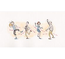The Chicken Dance from Arrested Development Photographic Print