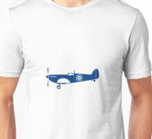 World War 2 Fighter Plane Spitfire Retro Unisex T-Shirt
