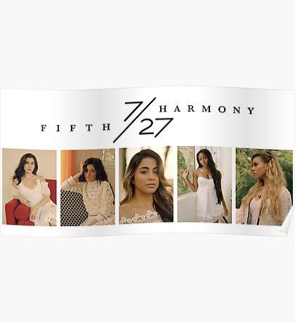 Fifth Harmony Wonderland Poster