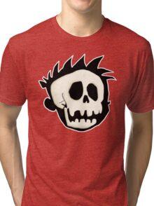 Calvin's Skull Tri-blend T-Shirt