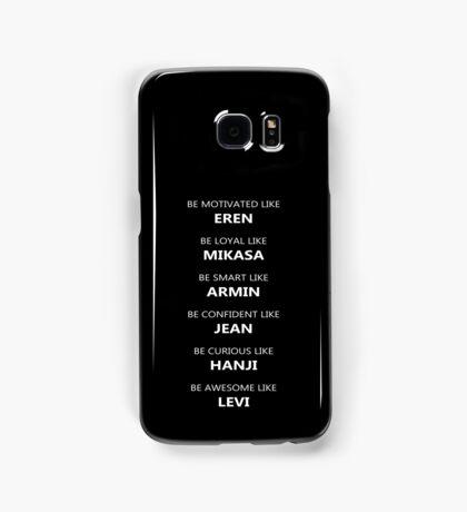 Attack On Titan Samsung Galaxy Case/Skin