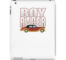 Ironic Boy Racer iPad Case/Skin