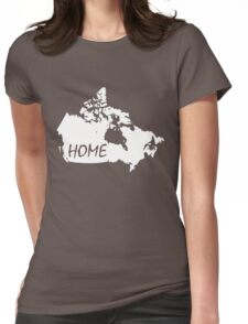 Canada Home Womens Fitted T-Shirt