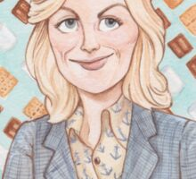 Leslie Knope from Parks and Recreation Sticker