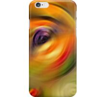 Heaven's Eyes - Abstract Art By Sharon Cummings iPhone Case/Skin