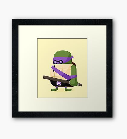 Donatello in Disguise Framed Print