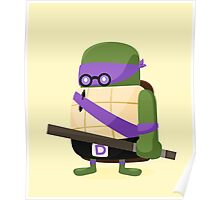 Donatello in Disguise Poster