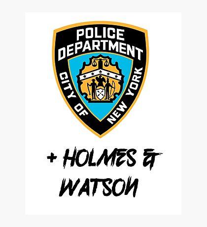 Elementary- Plus Holmes & Watson Photographic Print