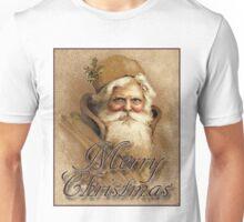 CHRISTMAS SANTA CLAUS; Vintage Print Unisex T-Shirt