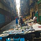 Fish Market in Naples by Christine  Wilson