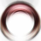 Enso Blush - Abstract Art By Sharon Cummings by Sharon Cummings