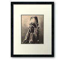 Hubble Big Horse - Cheyenne Framed Print