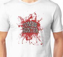 Zombie Hunter Red splatter Unisex T-Shirt